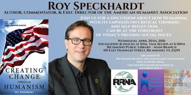 Creating Change through Humanism with Roy Speckhardt